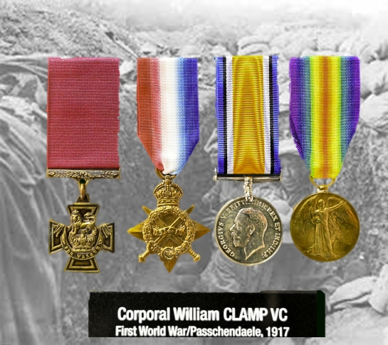 E_William Clamp died at Passchendaele, decorated for the ultimate sacrafice_