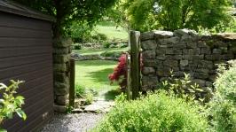 24. Through the garden gate