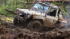 11. Muddy Trucker
