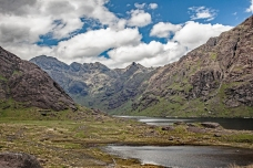 17. The Clouds Part over Loch Coruisk